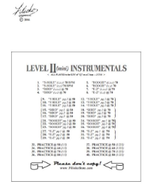 Level II mini Instrumentals Download